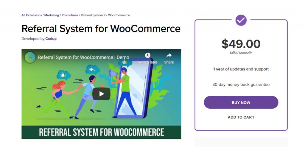 WooCommerce Referral System Plugin