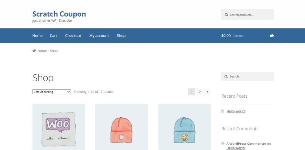 Scratch Coupom Best WooCommerce Marketing Plugins