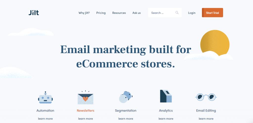 Jilt Best WooCommerce Marketing Plugins