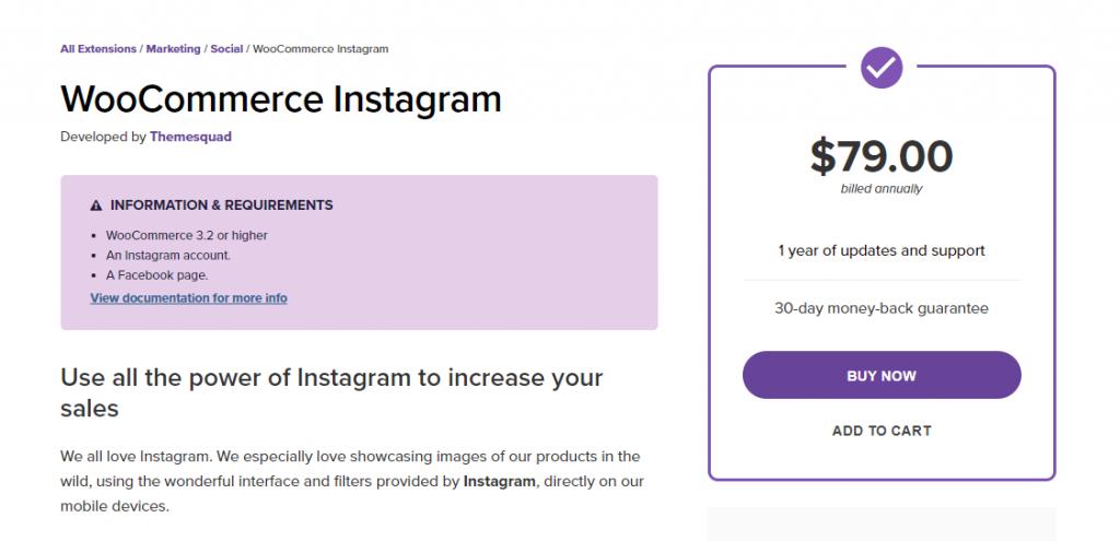 Instagram Marketing For WooCommerce