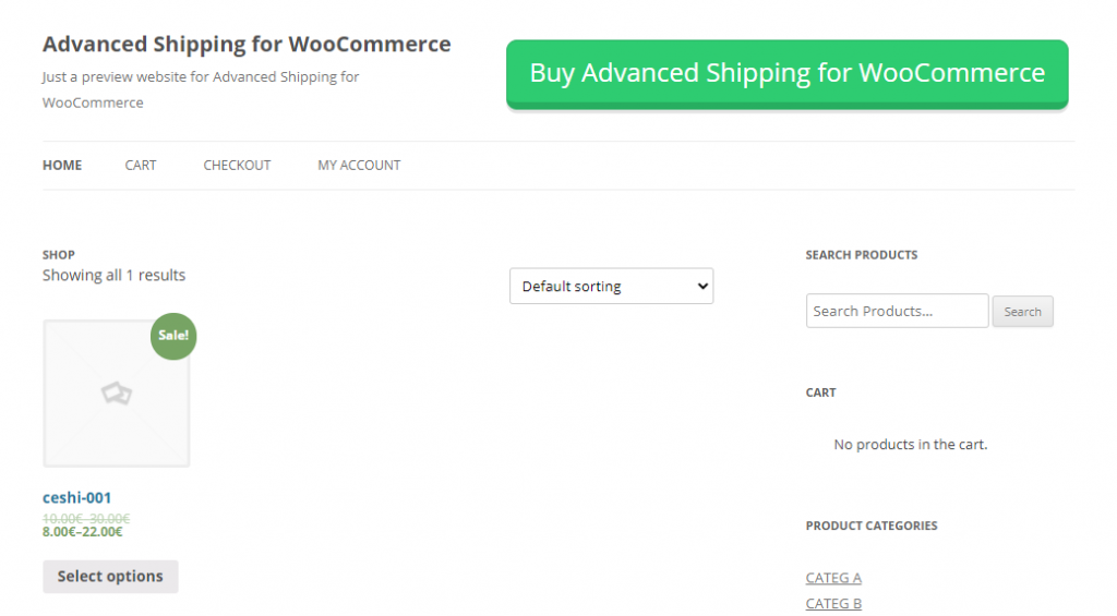 Advanced Shipping For WooCommerce