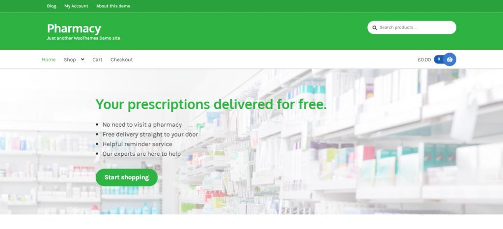 Pharmacy WooCommerce Theme