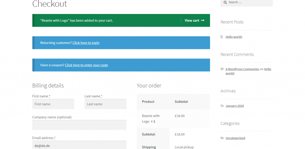 Checkout Field Editor Plugin For WooCommerce
