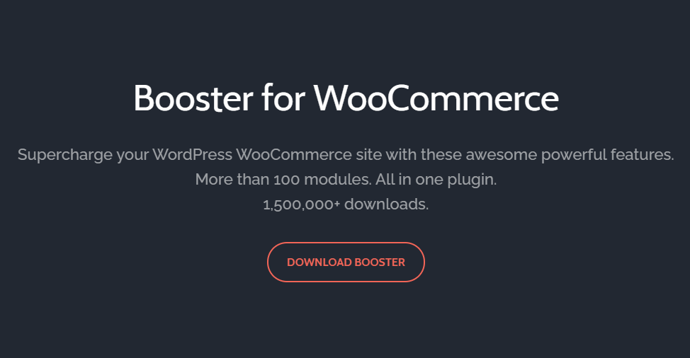 WooCommerce Booster Plugins
