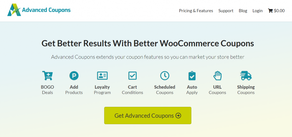 Advanced Coupons Plugin For WooCommerce