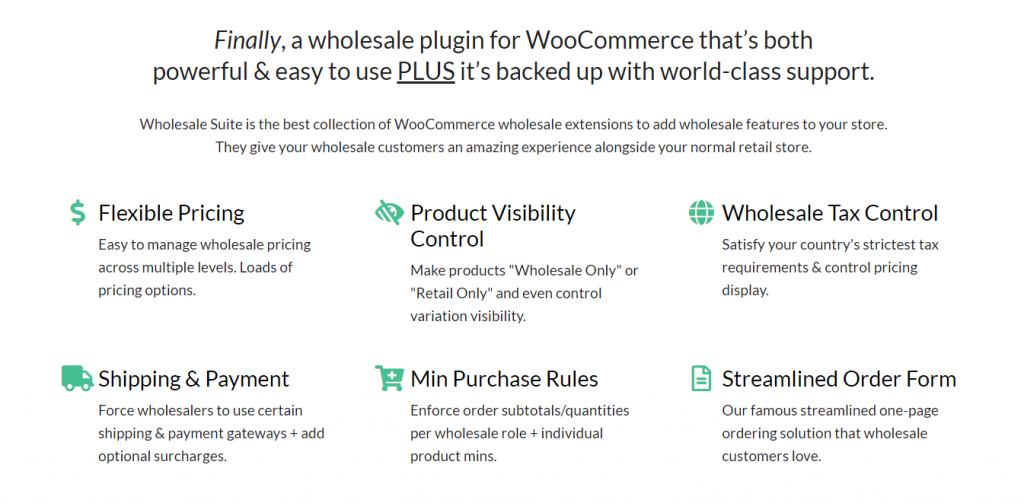 WooCommerce Wholesale Suite