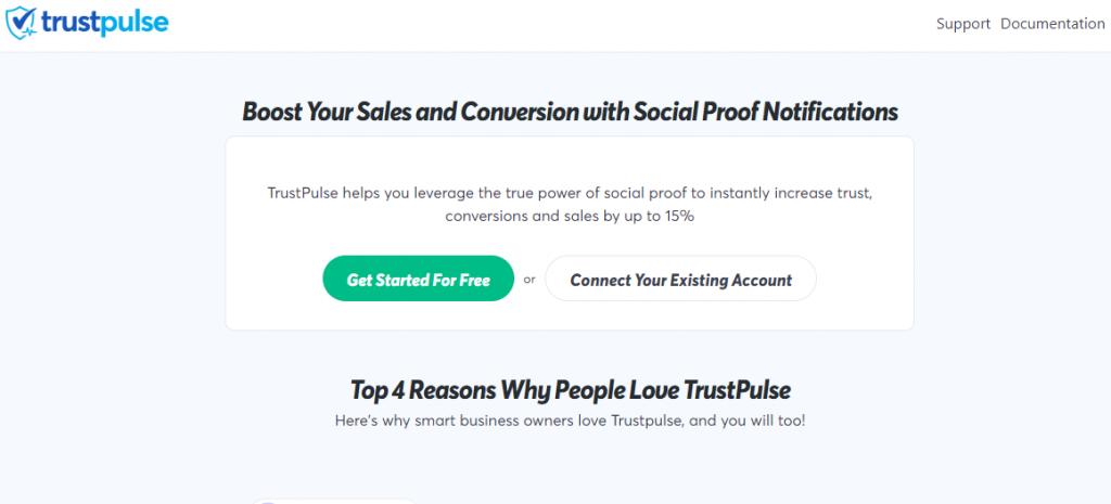 Trustpulse Best WooCommerce Plugins
