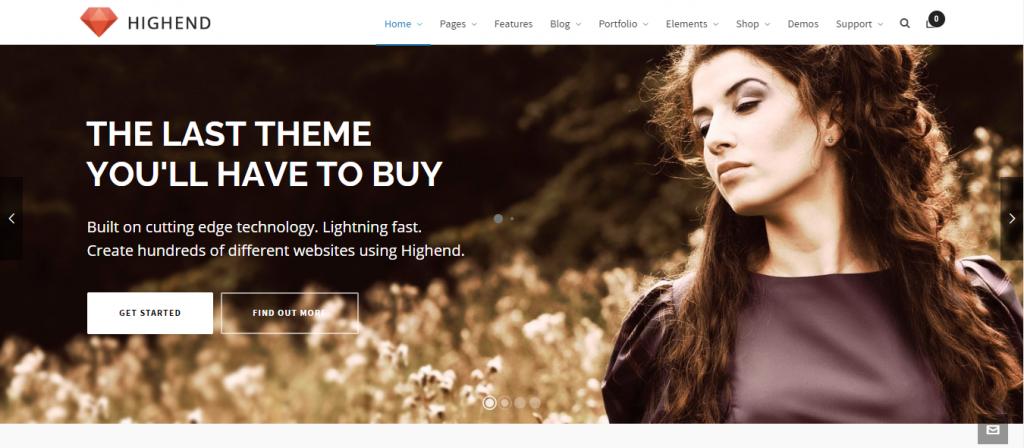 Highend responsive WooCommerce Theme