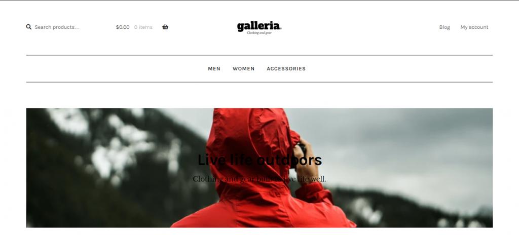 Galleria WordPress Theme