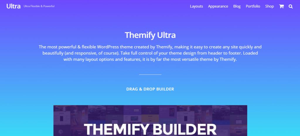 Ultra WooCommerce WordPress Theme