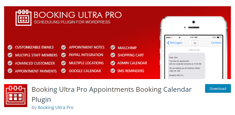 Booking Ultra Pro