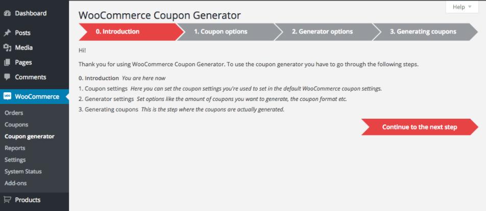 Discount Generator
