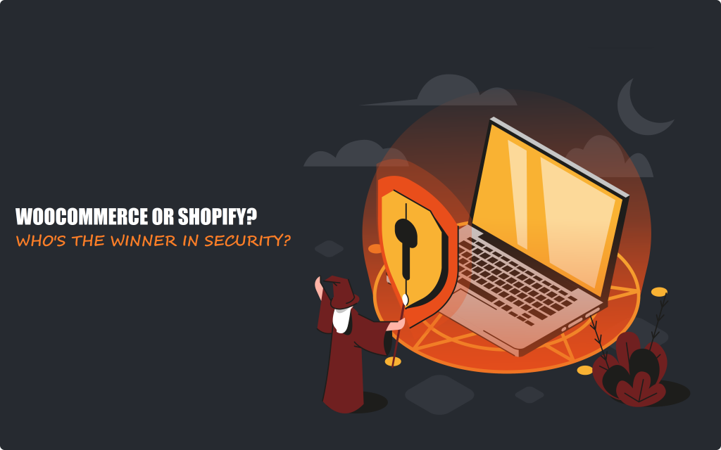 Security - WooCommerce vs Shopify