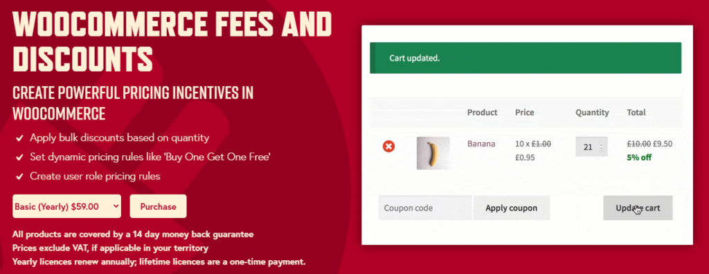 fees and discounts