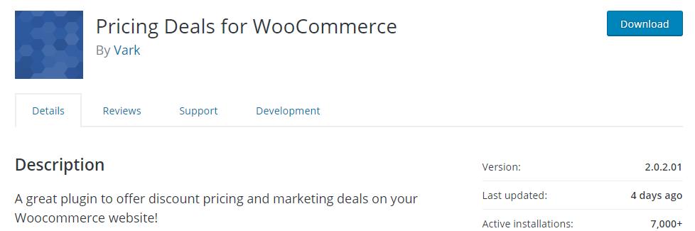woocommerce pricing deals