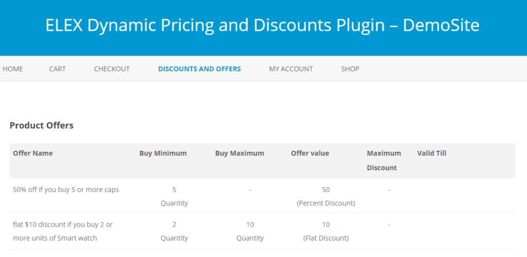 ELEX dynamic pricing