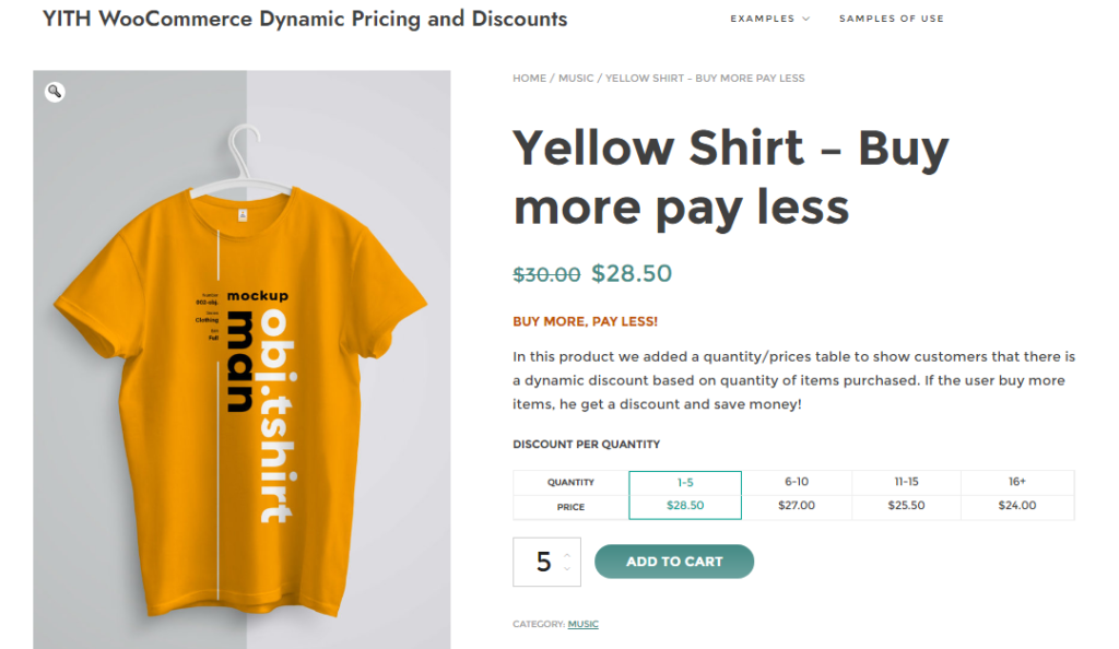 dynamic pricing woocommerce