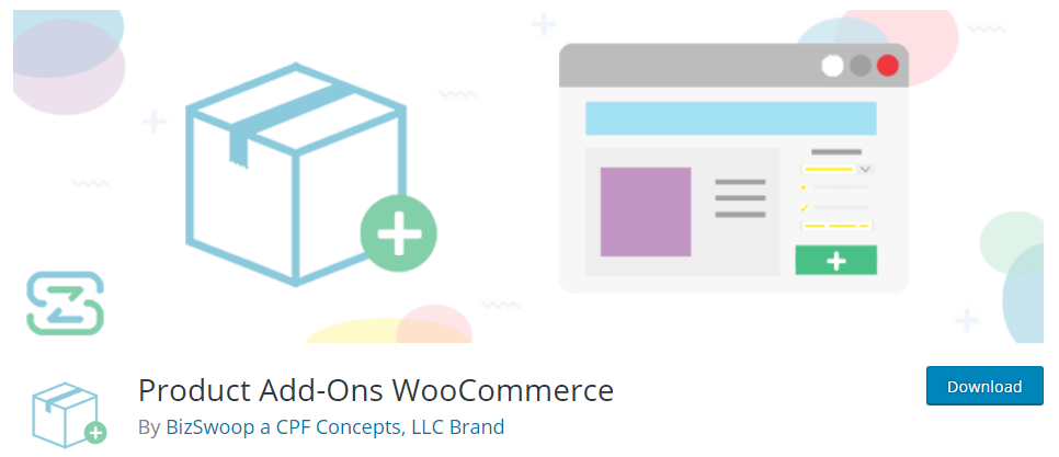 product addons woocommerce