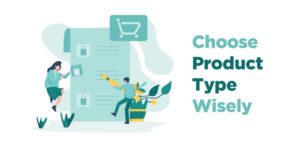 woocommerce custom digital downloads - choose product type