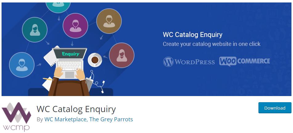 WooCommerce Product Catalog Plugins - Catalog Enquiry