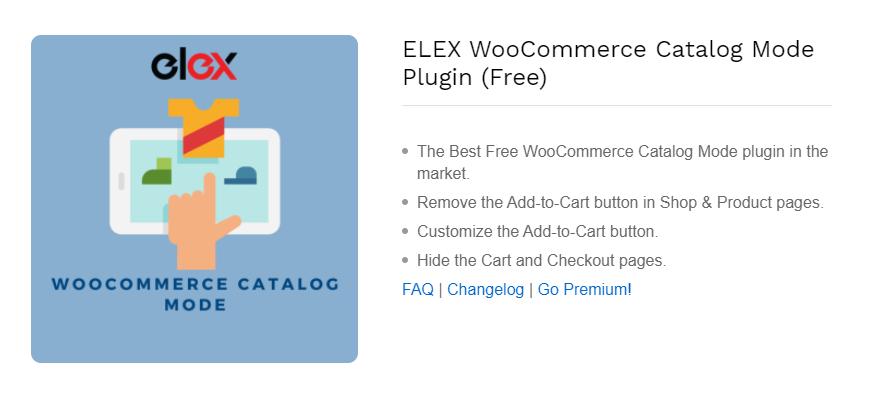 ELEX Catalog Mode