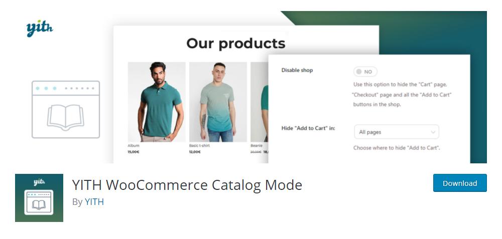 Yith WooCommerce Catalog Plugin