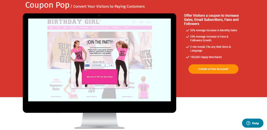 Coupon Pop -  Best WooCommerce Marketing Plugins