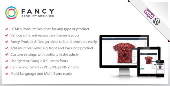 Fancy Product Designer for WooCommerce