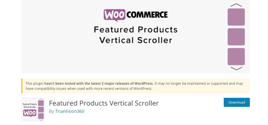 Vertical Scroller