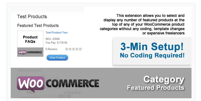WooFeatured -  WooCommerce Featured Products Plugin