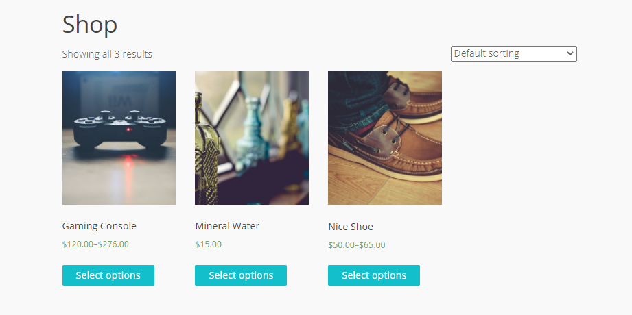 WooCommerce Variable Product - WooCombinator