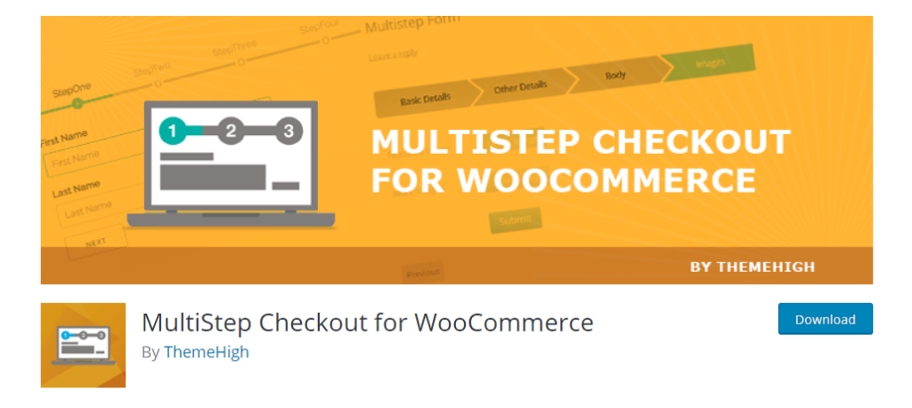 Multi-step Checkout