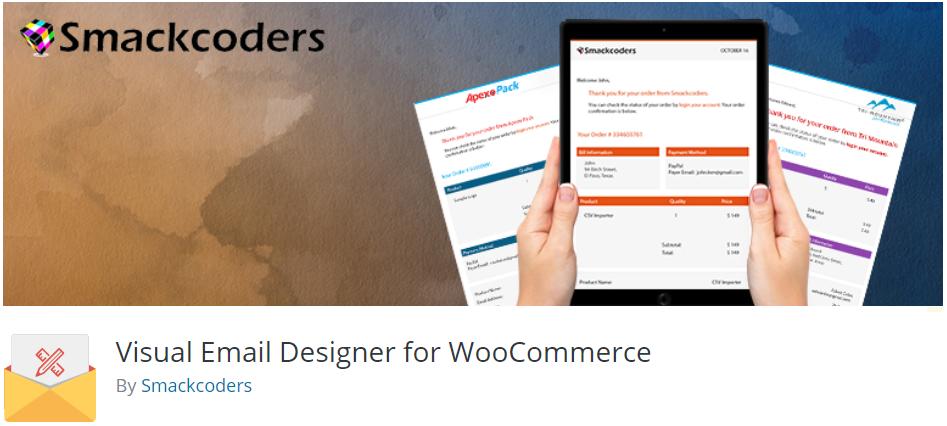 WooCommerce Visual Email Designer