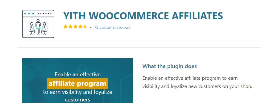 Yith WooCommerce Affiliate Plugin