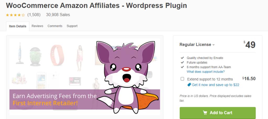 WooCommerce Amazon Affiliate Plugin