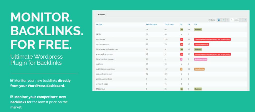WP Backlinks SEO plugin for WooCommerce
