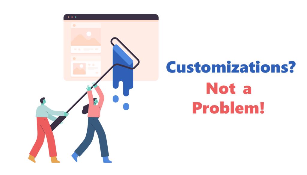 Best eCommerce Platform - Customizations