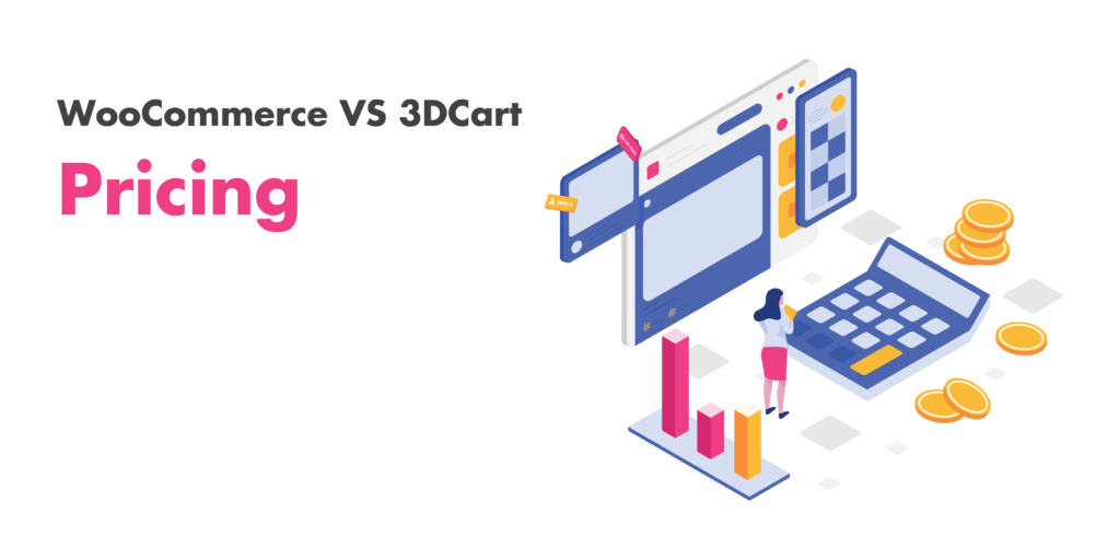 woocommerce and 3dcart: pricing