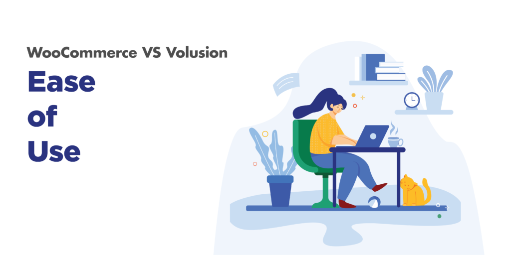 woocommerce and volusion: ease of use