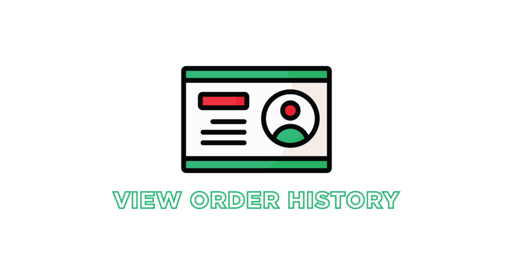 view order history