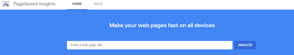Google PageSpeed Insights (PSI)