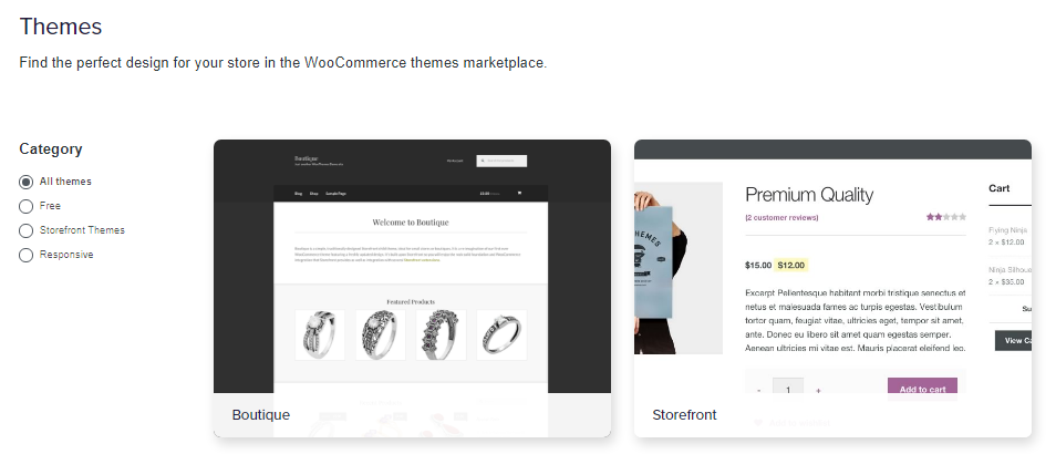 speed up woocommerce loading: get a fast theme