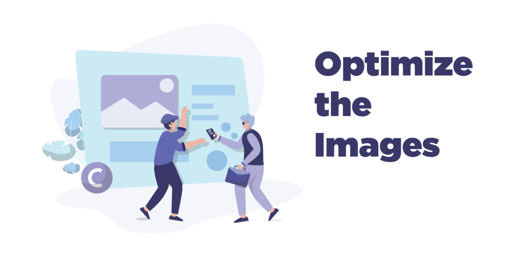how to speed up woocommerce: optimize the images