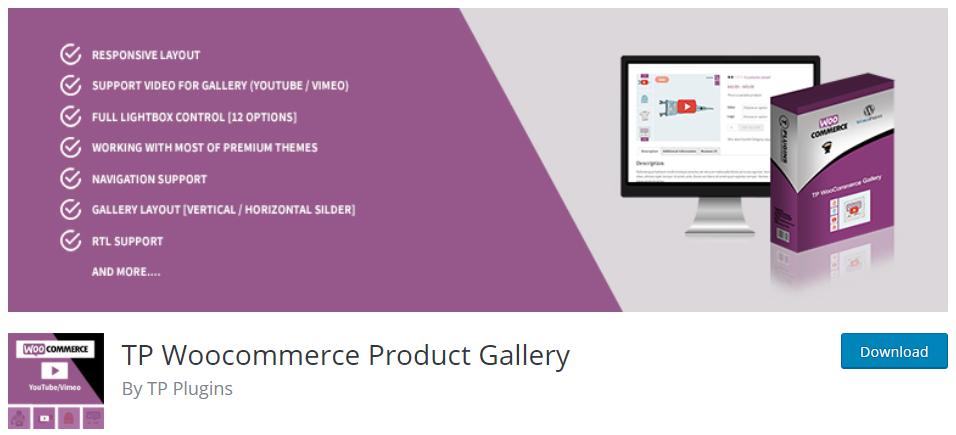 product gallery plugin